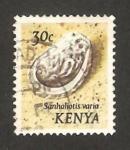 Stamps : Africa : Kenya :  caracola sanhaliotis varia