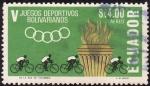 Stamps Ecuador -  Juegos deportivos Bolivarianos