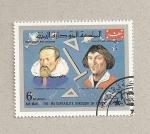 Stamps Yemen -  Astrónomos