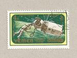 Stamps Yemen -  Astronauta