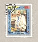 Stamps Yemen -  Robert Goddard