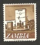 Stamps : Africa : Zambia :  museo nacional de livingstone