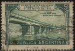 sellos de America - Argentina -  Inauguración Puente Internacional Argentina - Brasil en Paso de los Libres, Uruguayana llamado ofici