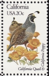 Stamps United States -  CALIFORNIA