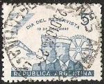 Stamps Argentina -  DIA DEL RESERVISTA