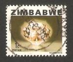 Sellos del Mundo : Africa : Zimbabwe : mineral esmeralda rosa