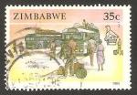 Stamps : Africa : Zimbabwe :  autocares