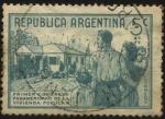 Sellos de America - Argentina -  Conmemorativo del primer Congreso Panamericano de la Vivienda Popular, Buenos Aires, del 2 a 7 de oc