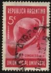 Stamps Argentina -  XI Congreso de la UPU, Unión Postal Universal en Buenos Aires año 1939.