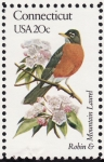 Stamps United States -  CONNECTICUT