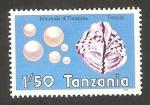 Sellos de Africa - Tanzania -  mineral de Tanzania, perlas