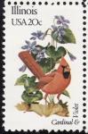 Stamps United States -  ILLINOIS