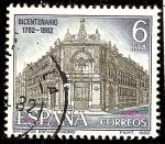 Sellos de Europa - España -  Paisajes y monumentos. Fachada del Banco de España, Madrid