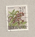 Stamps New Zealand -  Planta Titox