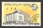 Stamps : Africa : Kenya :  Kenya Tanzania Uganda - centº de la unión postal universal