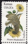 Stamps United States -  KANSAS
