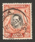 Stamps : Africa : Kenya :  Kenya Uganda Tanganika - George VI