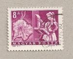 Stamps Hungary -  Leyendo libro