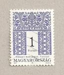 Stamps Hungary -  Bordado