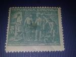Stamps : Europe : Spain :  la fragua de vulcano
