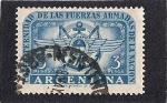 Sellos del Mundo : America : Argentina : Fuerzas Armadas de la Nacion