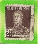 Sellos del Mundo : America : Argentina : Gral. Jose de San Martin