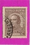 Sellos del Mundo : America : Argentina : Justo Jose de Urquiza
