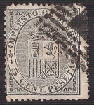 Stamps Europe - Spain -  Escudo de España. - Edifil 141