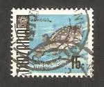 Stamps : Africa : Tanzania :  pez arothron hisìdus