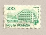 Sellos de Europa - Rumania -  Covasna, Hotel Bradul