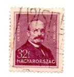 Stamps Hungary -  -1932-1937-Comandante I. TISZA