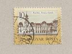 Sellos de Europa - Hungría -  Castillo Keszthely Festetics