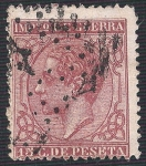 Stamps Europe - Spain -  Alfonso XII. - Edifil 188