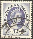 Sellos del Mundo : Africa : Malawi : rhodesia nyasaland - elizabeth II