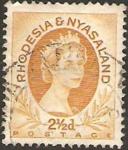 Stamps : Africa : Malawi :  rhodesia nyasaland - elizabeth II