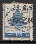 Sellos de Asia - Líbano -  Cedro.