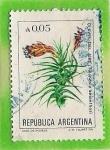 Sellos del Mundo : America : Argentina : Clavel del Aire
