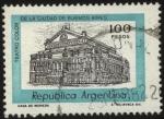 Stamps Argentina -  Teatro Colón de la ciudad de Buenos Aires. 100 pesos
