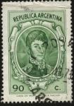 Stamps Argentina -  Libertador General San Martín