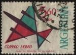 Sellos de America - Argentina -  Correo Aéreo. Emisión para franqueo de correspondencia aérea o común.