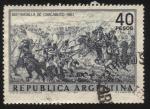 Sellos de America - Argentina -  150 años de la Batalla de Chacabuco. Triunfo fundamental del ejército independentista comandada por