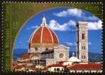 Stamps America - ONU -  ITALIA -  Centro histórico de Florencia