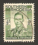 Stamps : Africa : Zimbabwe :  rhodesia del sur - George VI