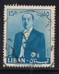 Sellos de Asia - Líbano -  Fuad Chehab. Presidente de la Republica del Líbano 1958-64.
