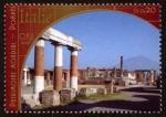 Sellos del Mundo : America : ONU : ITALIA -  Zonas arqueológicas de Pompeya, Herculano y la Torre Annunziate