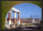 Sellos del Mundo : America : ONU : ITALIA -  Zonas arqueol�gicas de Pompeya, Herculano y la Torre Annunziate