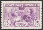 Stamps Europe - Spain -  Expo. de Industrias de Madrid. - Edifil SR2