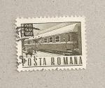 Sellos de Europa - Rumania -  Vagón tren