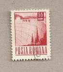Sellos de Europa - Rumania -  Muro presa