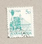 Stamps Yugoslavia -  Osijek